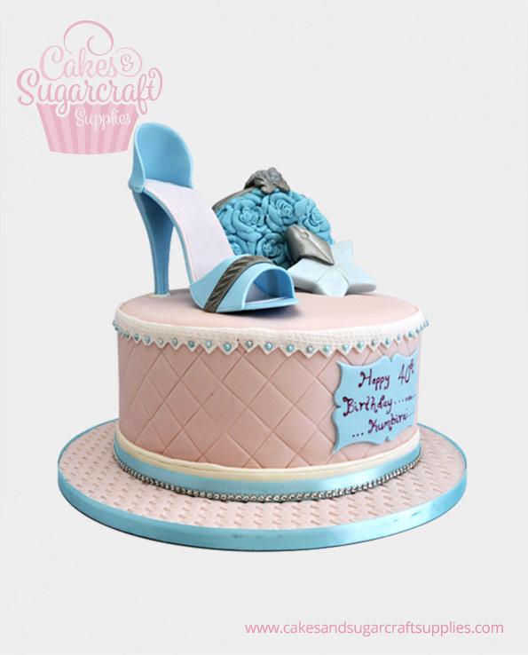 Brilliant Ladies Birthday Cakes Cakes Sugarcraft Supplies Funny Birthday Cards Online Overcheapnameinfo