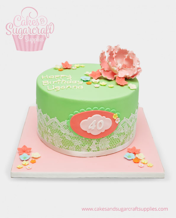 Ladies Birthday Cakes Cakes Sugarcraft Supplies
